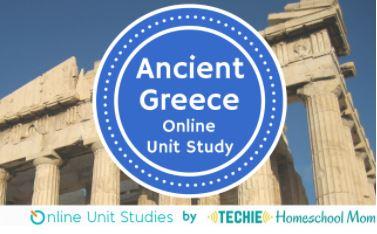 Ancient Greece Online Unit Study