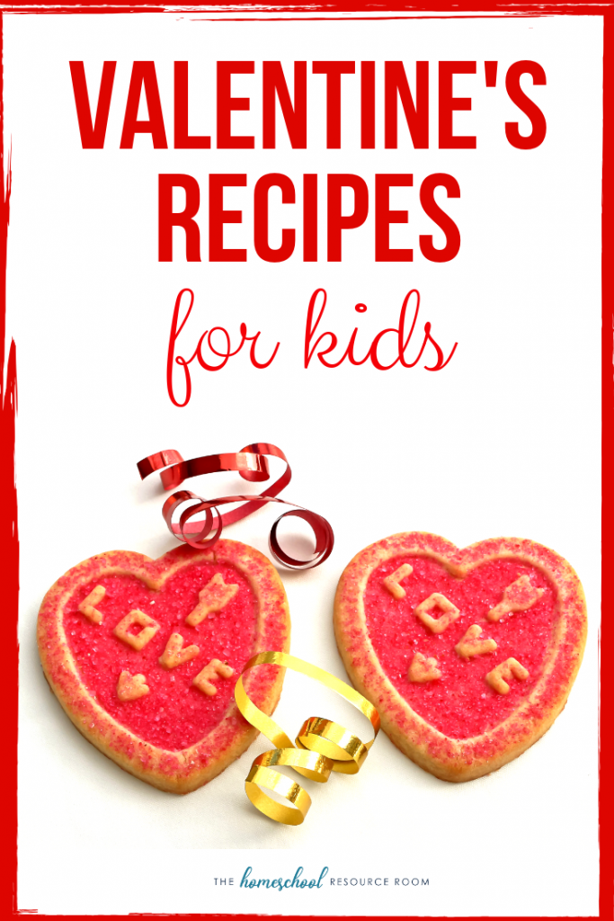 10 Great Valentine's Day Recipes for Kids! Have fun with your kids in the kitchen this Valentine's Day!