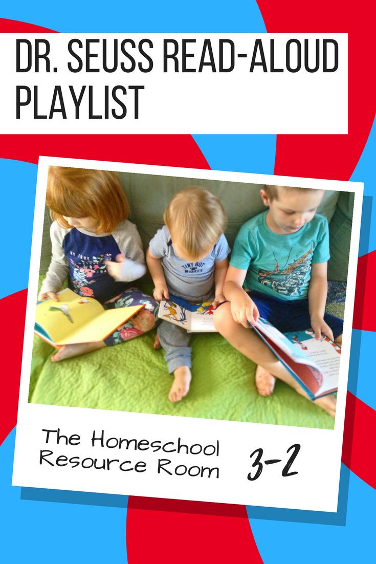 Dr. Seuss Read Aloud Playlist.