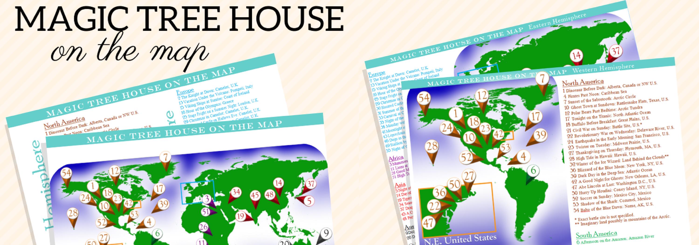 Magic Tree House Map
