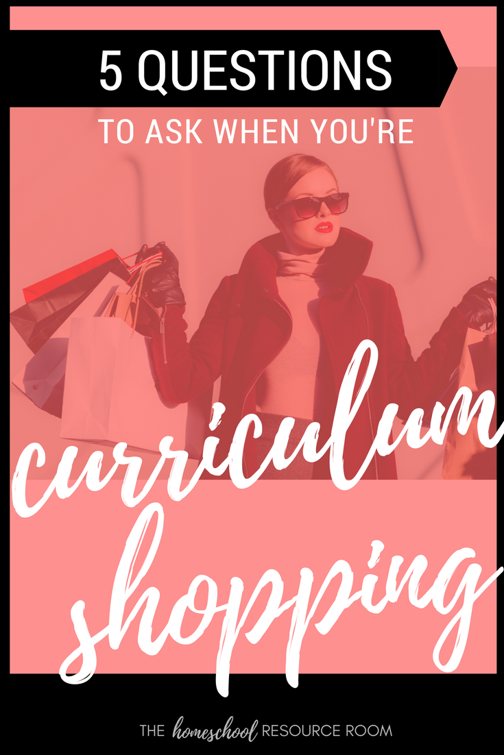 Don't go curriculum shopping without answering these 5 questions!!!