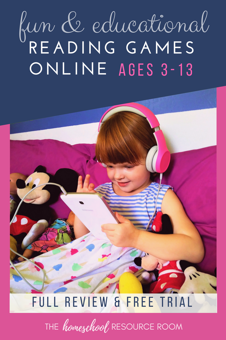 Online reading games for kids! Inspire a love of reading with FUN interactive games!