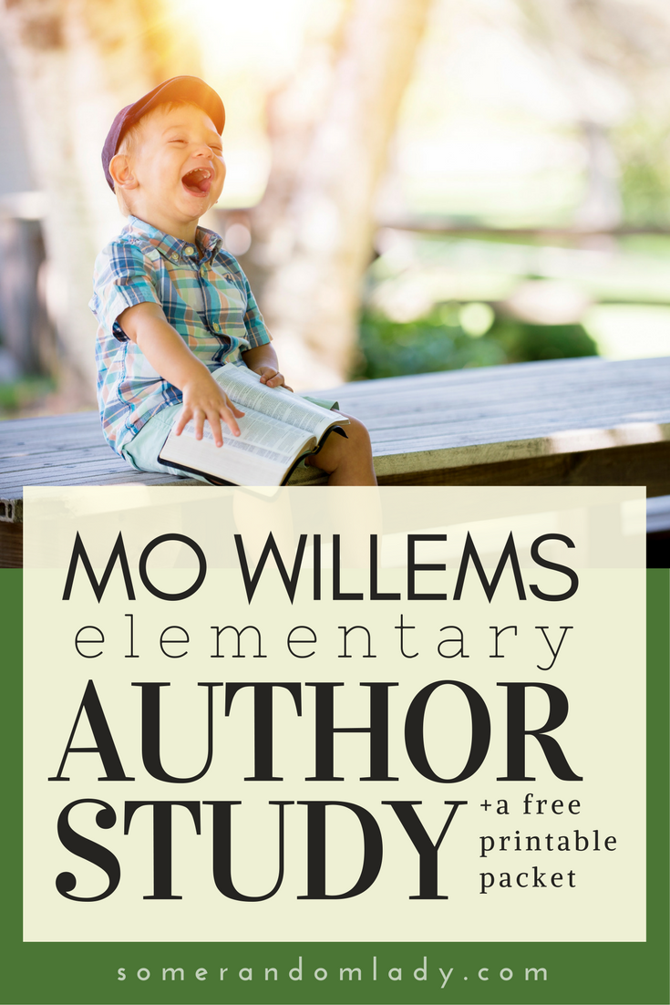 Mo Willems Books And Activities The Homeschool Resource Room