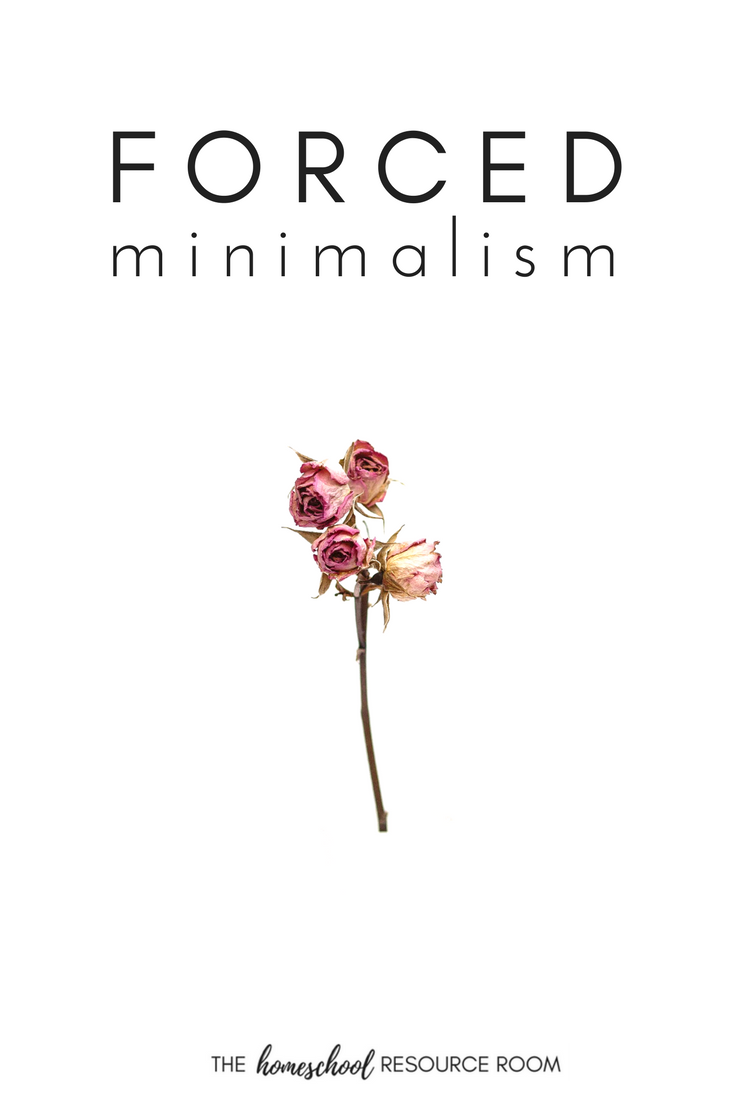 Living the minimalist lifestyle. When you're thrown into minimalism without a choice.