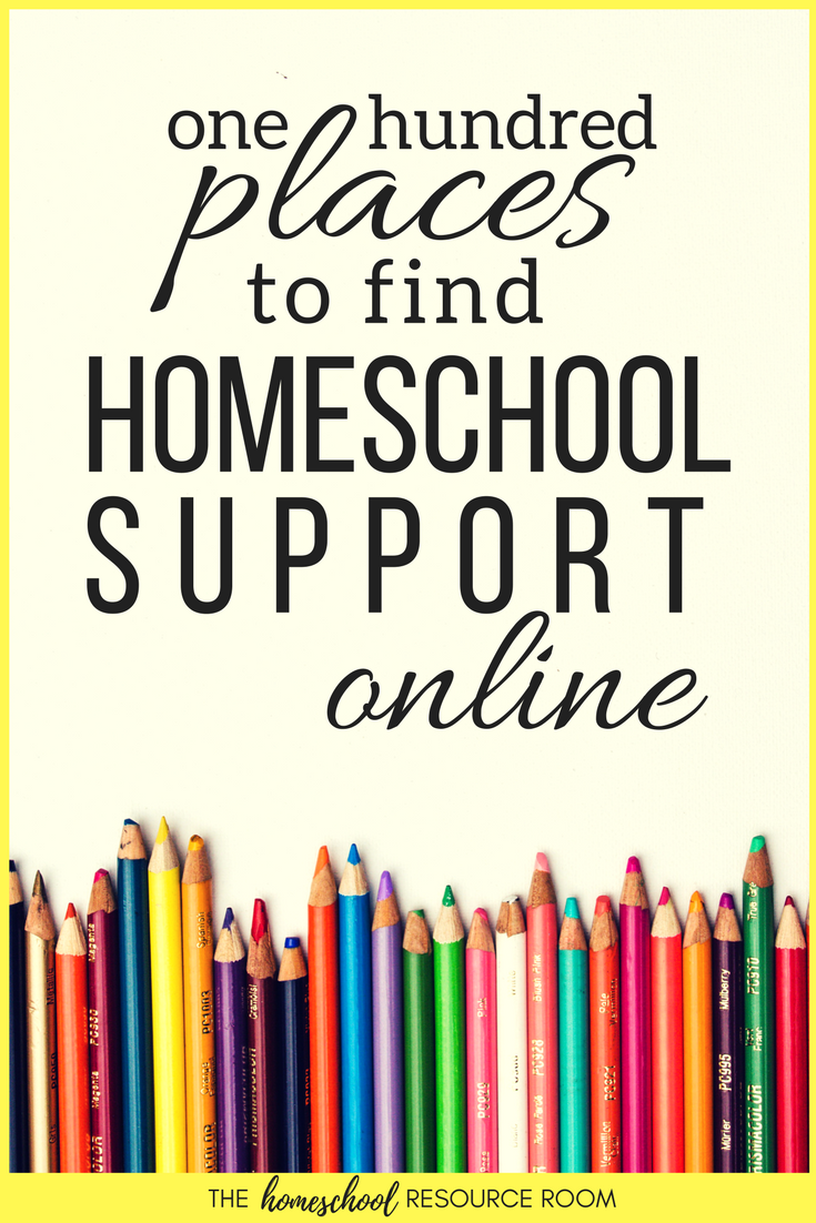 Find homeschool support online