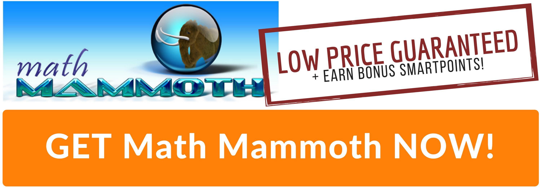 Best Price for Math Mammoth Homeschool Curriculum