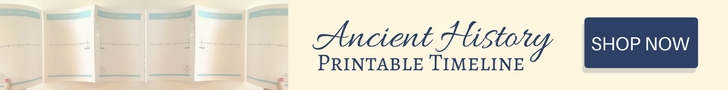 Printable Timeline for Ancient History - Shop Now on TeachersPayTeachers