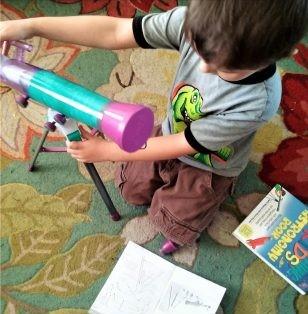 Summer STEM Activities: Astronomy Exploration