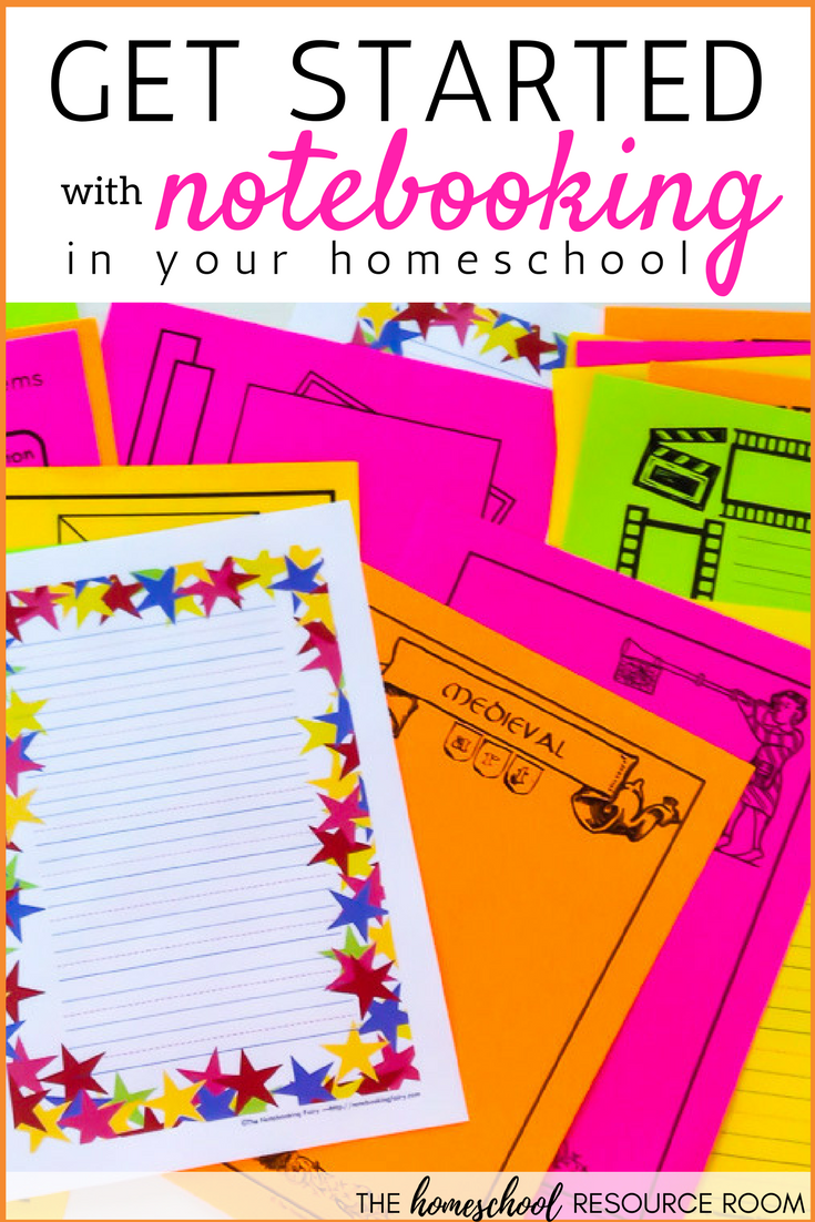 Getting started with notebooking in your homeschool