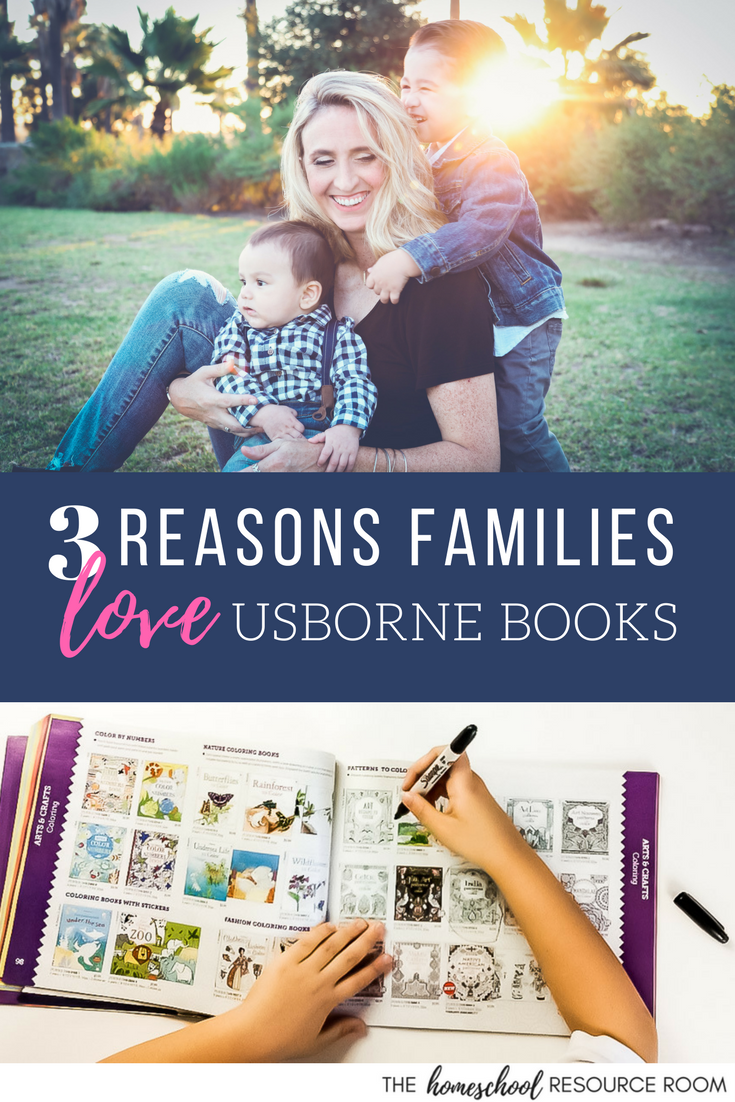 Families love Usborne books! Usborne books for homeschool and every family. See why these books are so fabulous, and enter for a chance to WIN!