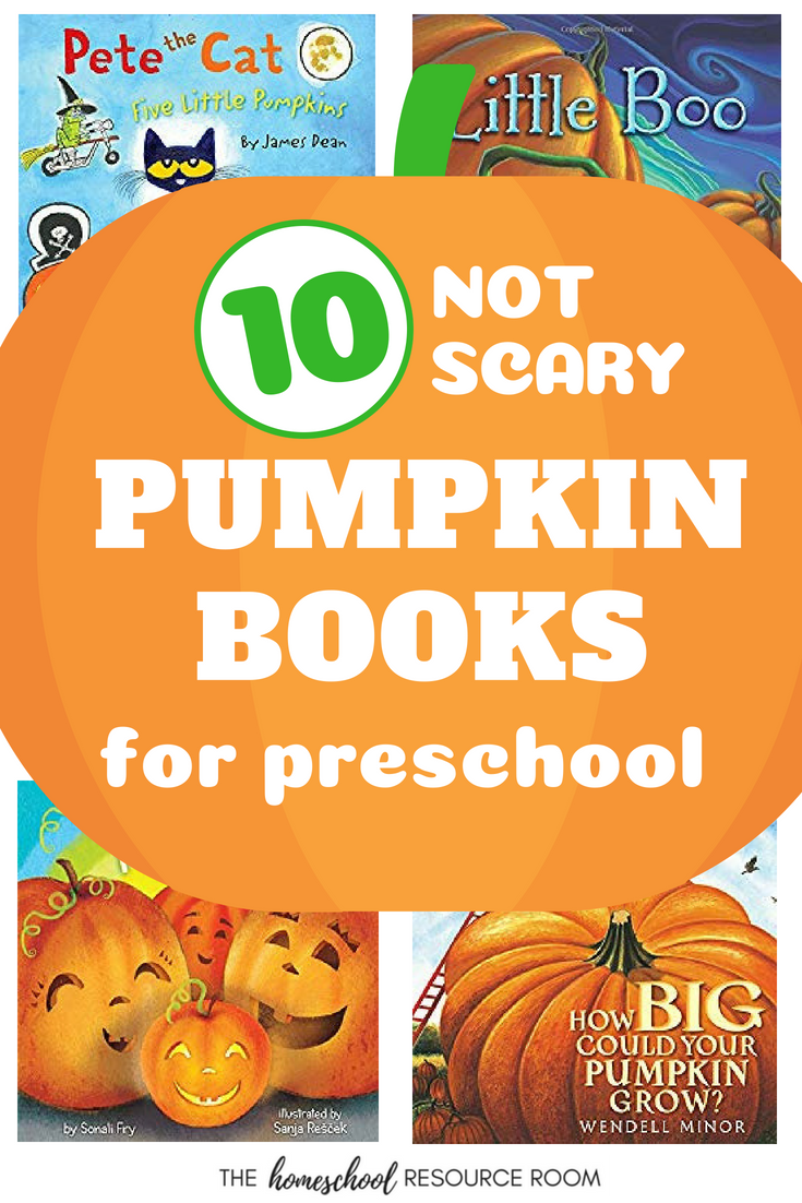 Pumpkin Books for Preschool. A book list for sensitive preschoolers or kindergartners all about pumpkins. Perfect for October!