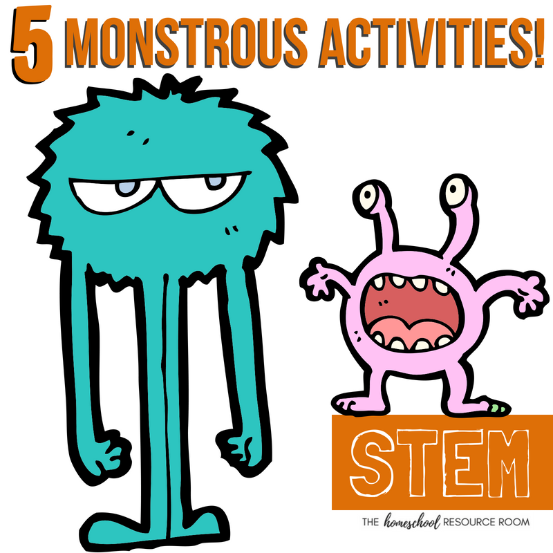 20 Halloween STEM Activities: 5 Halloween Monster Activities