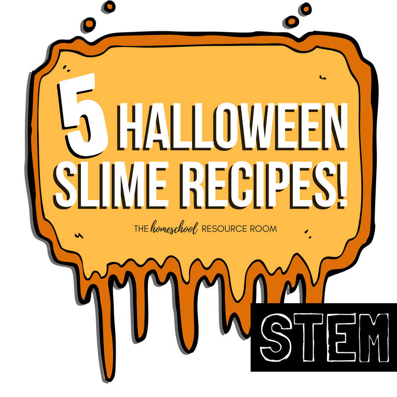 20 Halloween STEM Activities: 5 Halloween Slime Recipes