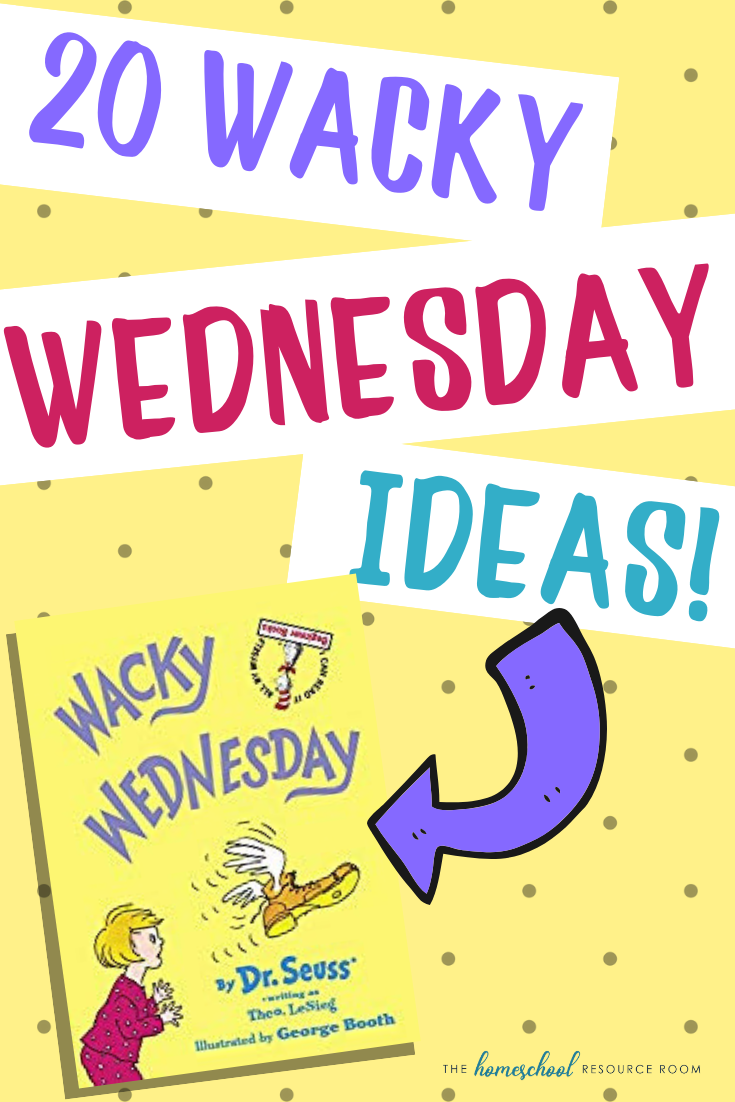 20 simple, low prep Wacky Wednesday ideas to help create a memorable and wacky day for your kids! Find Wacky Wednesday STEM activities, wacky crafts, and wacky surprises!