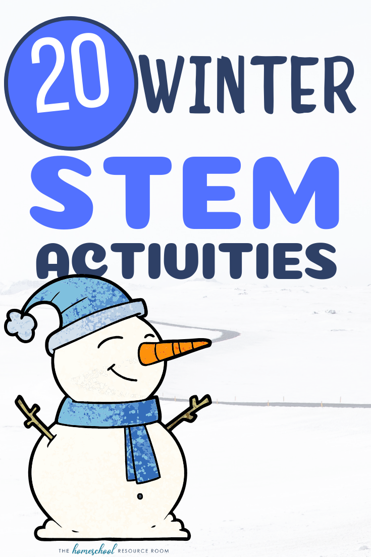 20 Winter Stem Activities The Homeschool Resource Room