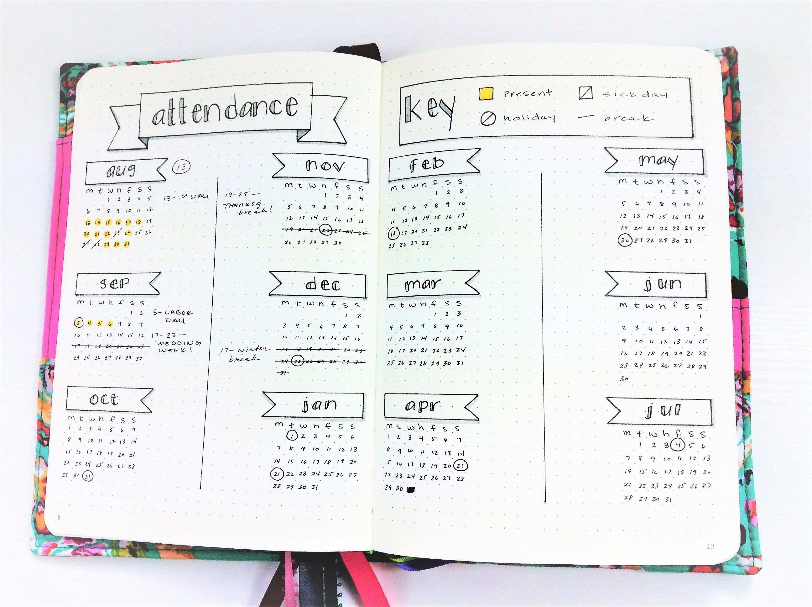 Homeschool Bullet Journal (1)