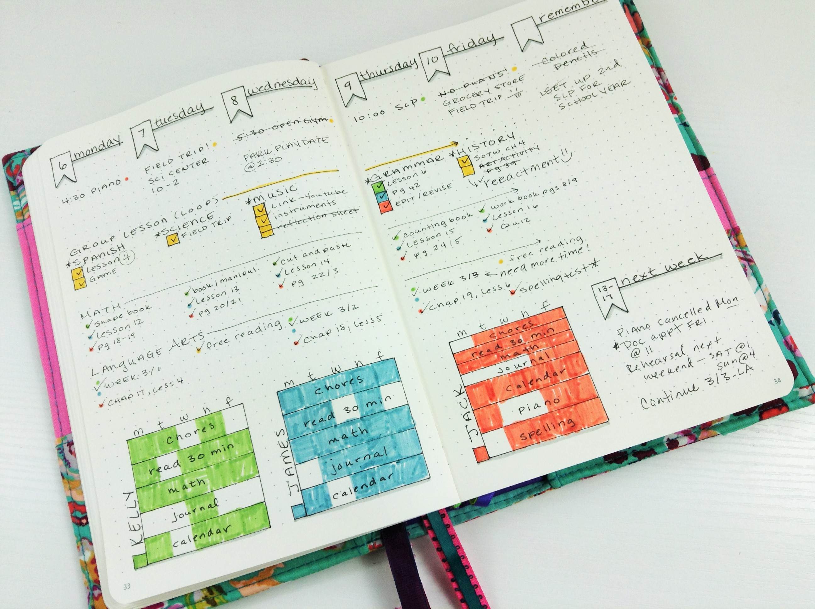 Homeschool Bullet Journal (4)
