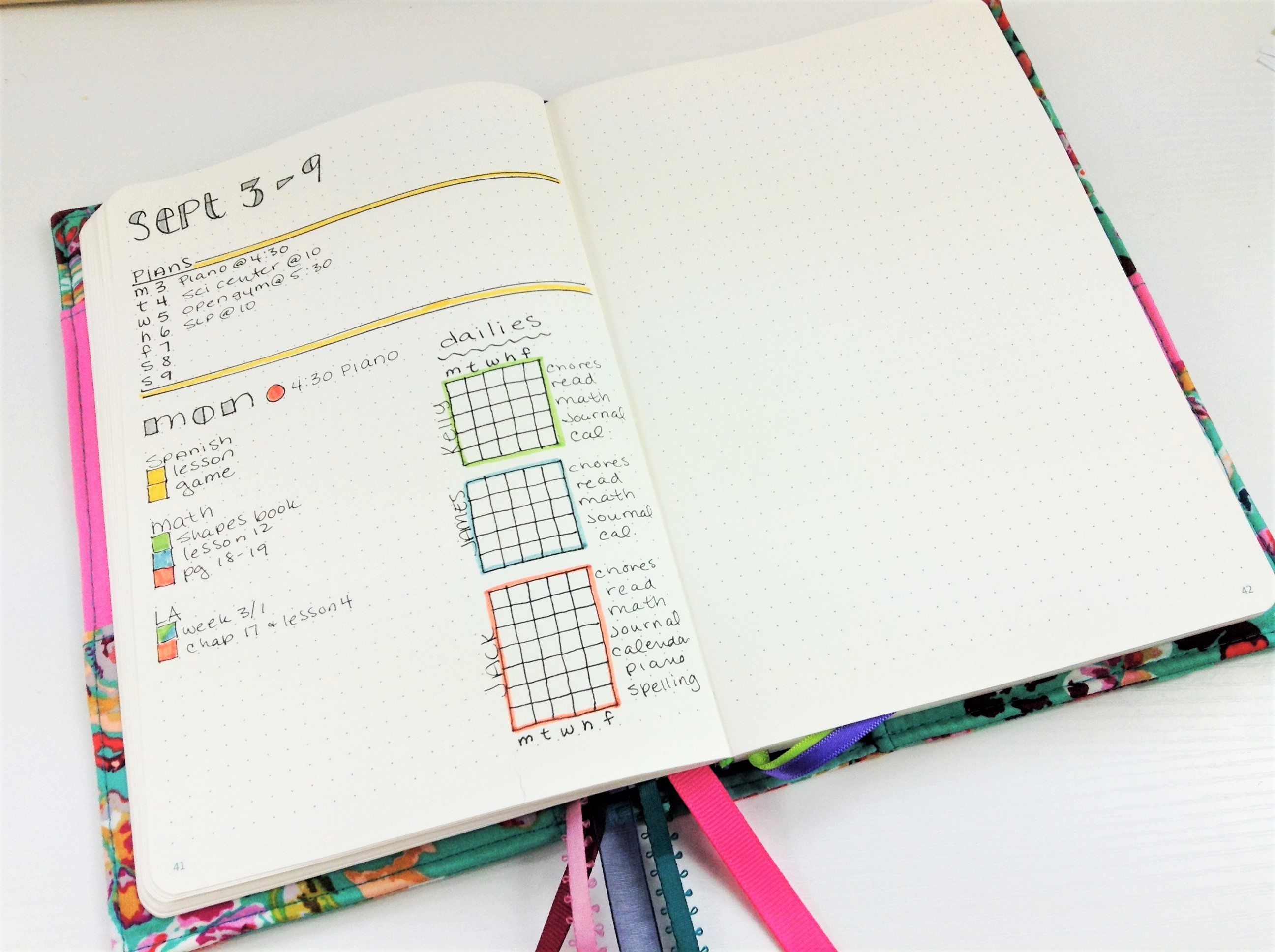 Homeschool Bullet Journal (5)