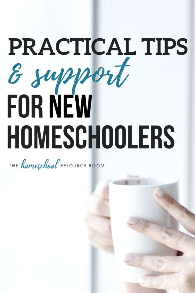 New to Homeschooling? Start here - with practical tips and support for new homeschoolers from The Homeschool Resource Room.