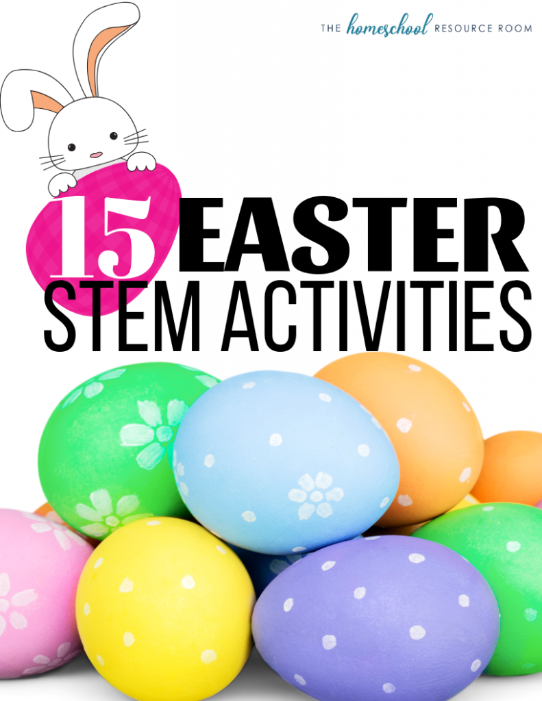 Easter STEM Activities - 15 fun and engaging STEM activities for elementary ages.