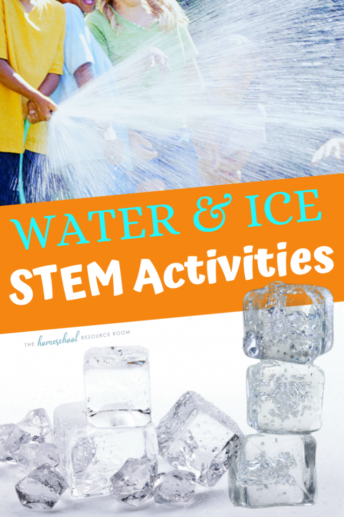 Summer STEM Activities with Water and Ice