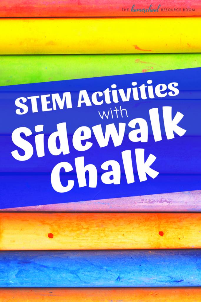 Summer STEM Activities with Chalk