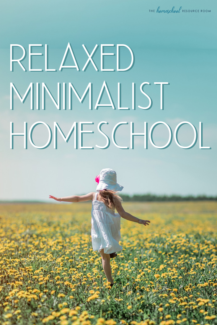 Relaxed homeschool, a minimalist approach. Interview with June Doran, working mom of five and relaxed, minimalist homeschooler.