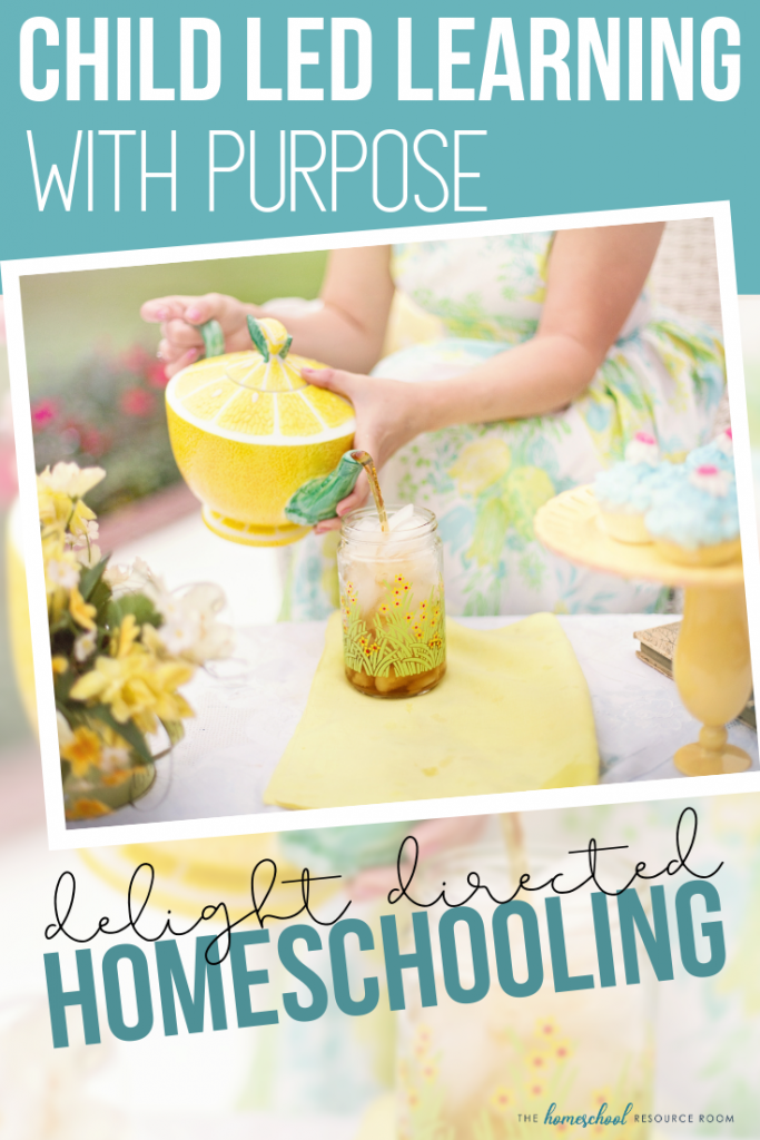 Purposeful and creative approach to child led learning. An interview with Heart and Soul Homeschooling's Sarah J. Jordan about her delight directed approach. #homeschooling #childledlearning #homeschool