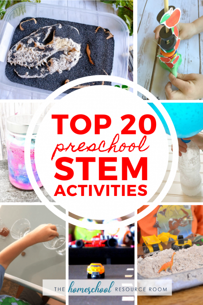 20 Fun Preschool Stem Activities The Homeschool Resource Room