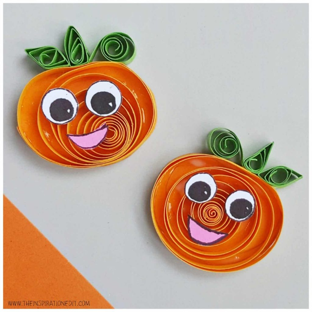 Pumpkin Crafts for Kids 8