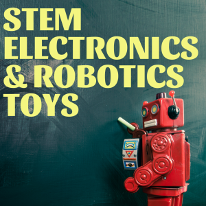 Top STEM gifts for kids! Check out these amazing electronics and robotics kits for some hands-on learning and exploration! #stem #stemeducation #handsonlearning #robotics #robots