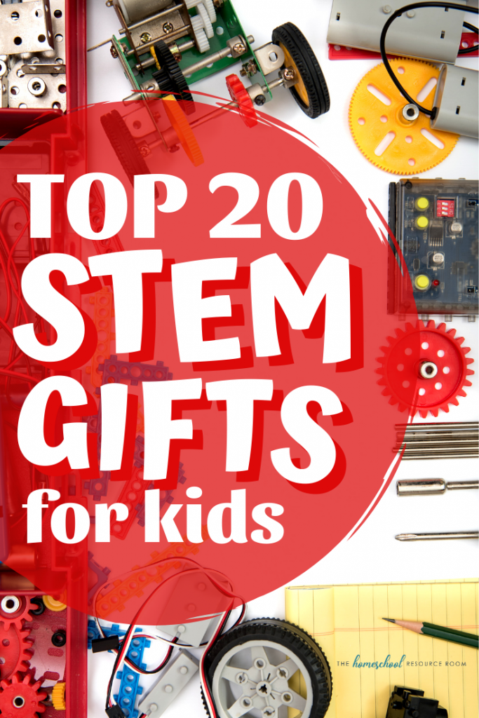 Top 20 STEM gifts for kids! Great ideas for hands-on educational toys including kids robotics, best STEM games, and STEM gifts for girls! #stem #educationaltoys #handsonlearning