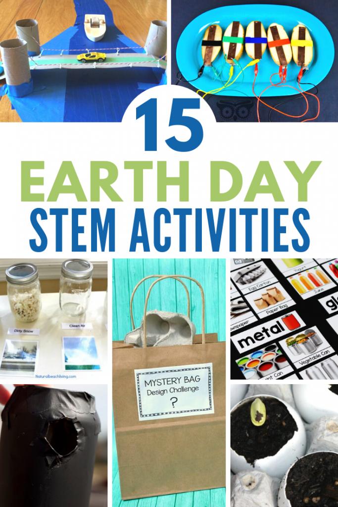 15 Fun Earth Day Stem Activities The Homeschool Resource Room