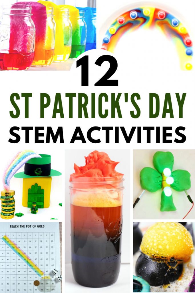 12 fantastically fun St. Patrick's Day STEM activities! Great for adding some hands-on fun to your March lesson plans.