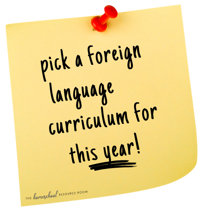 secular foreign language curriculum for homeschool