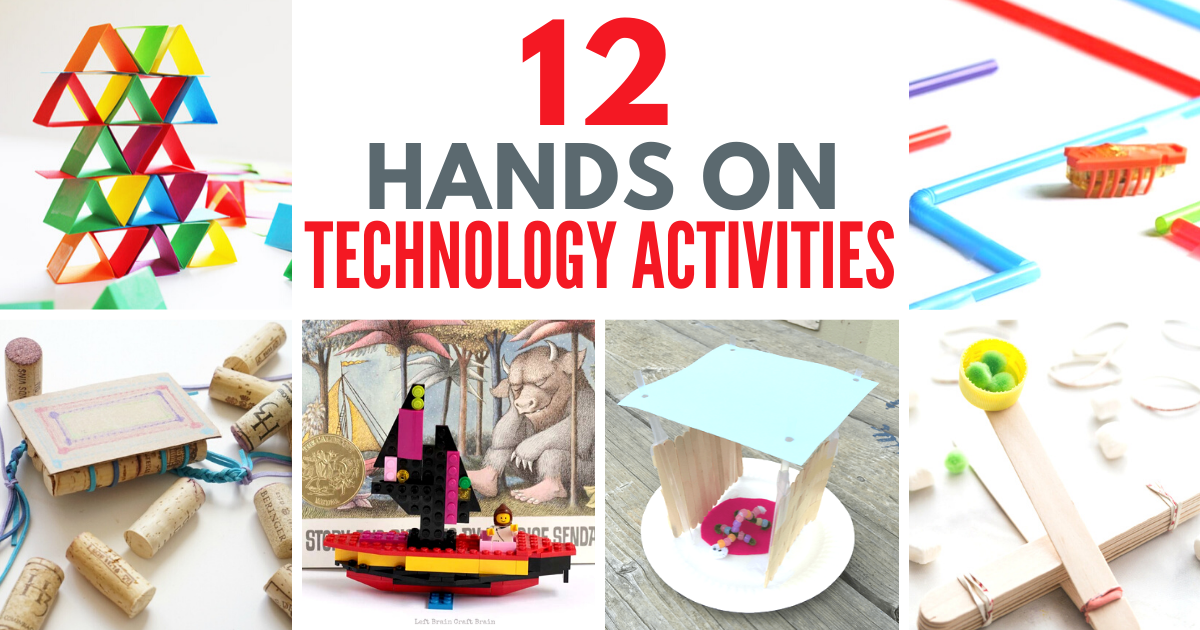fun engineering activities for kids. Hands-on projects, activities, and challenges that will get your creative little builders learning through play! #engineering #stem #stemeducation #elementary