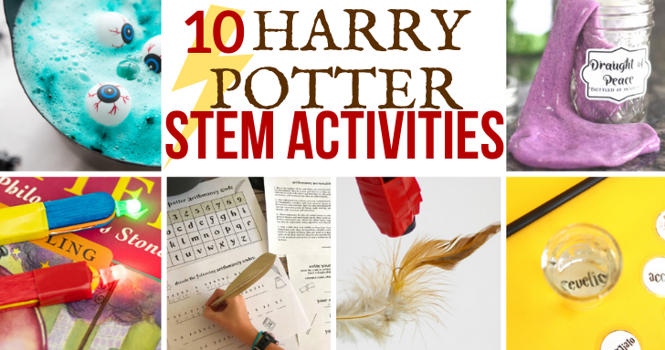 10 magical Harry Potter science experiments and STEM activities. Hands-on learning and FUN challenges and projects for kids! #stem #stemeducation #harrypotter #science