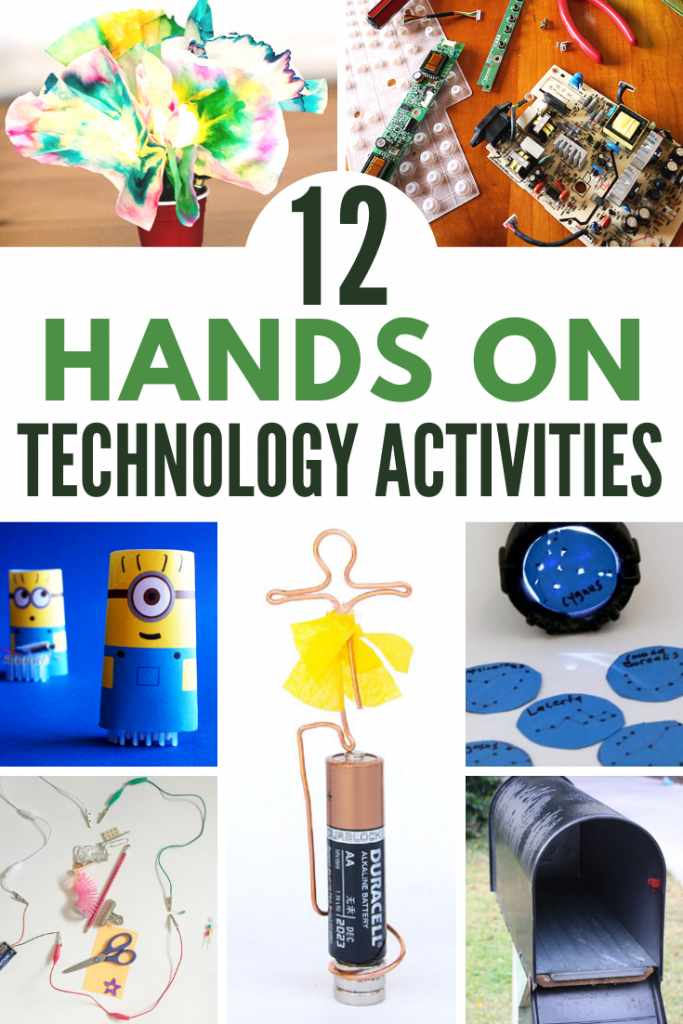 12 No Screen Technology Stem Activities For Kids The Homeschool Resource Room