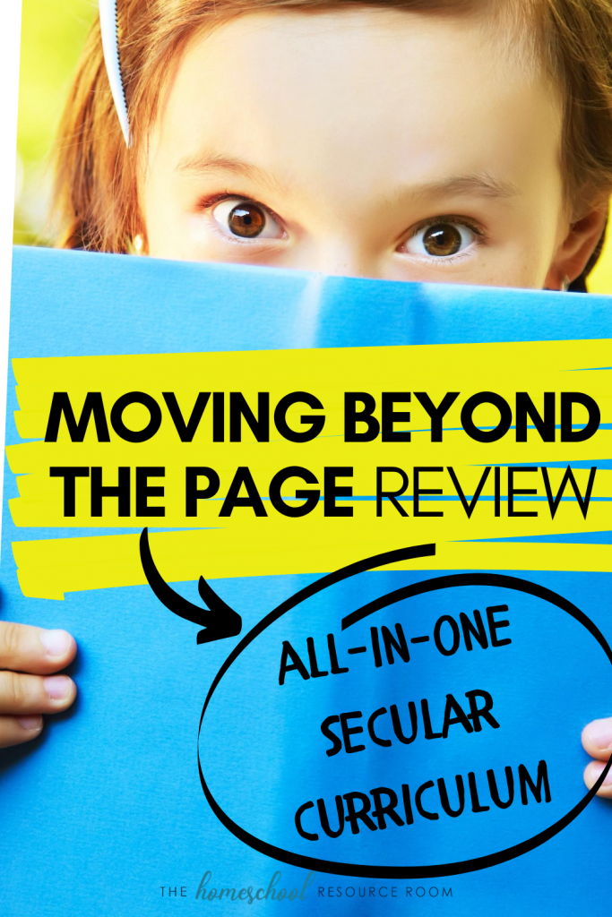 Moving Beyond the Page REVIEW: Secular, All-in-one homeschool curriculum. Is MBTP for you? #secularhomeschool #homeschooling #homeschool #homeschoolcurriculum #education