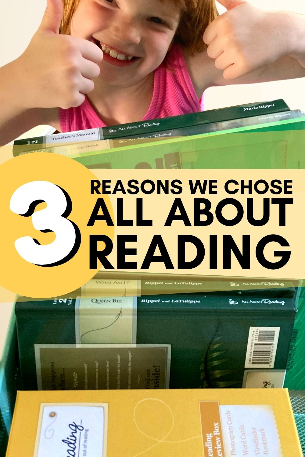 3 reasons we chose All About Reading for learning to read. An Orton-Gillingham based program with open-and-go, short, hands-on lessons. #homeschooling #reading #curriculum