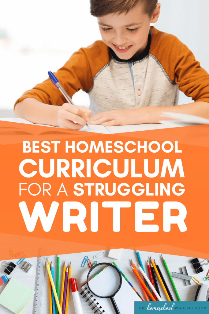Best Homeschool Writing Curriculum for struggling writers. Check out our review of WriteShop, an engaging program designed to be thorough and EASY to teach!