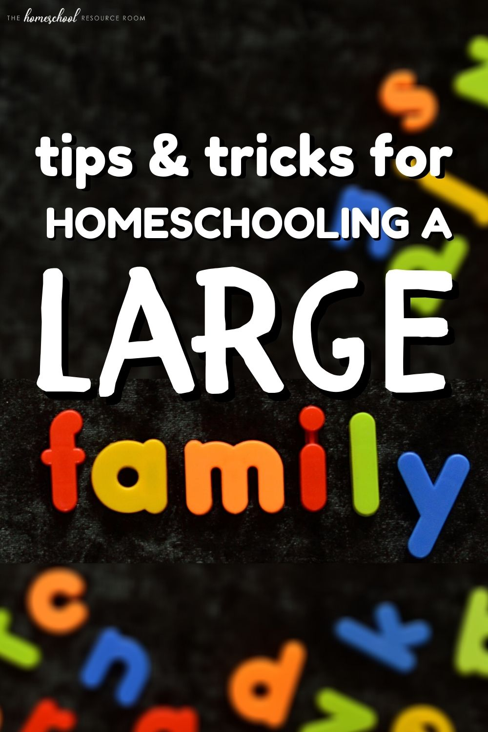 Large Family Homeschooling - tips and tricks for your big family! #homeschool #homeschooling #education