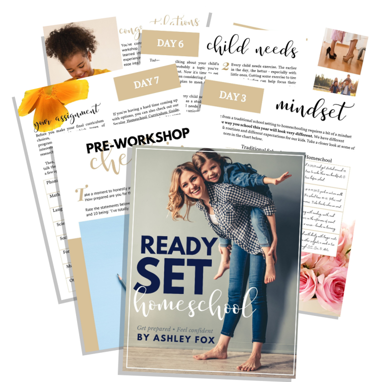Ready Set Homeschool Workshop - Get prepared, Feel confident!
