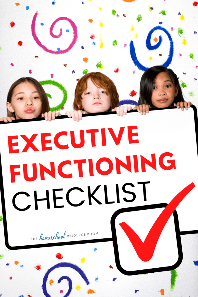 Executive Functioning Checklist: What are executive functioning skills? And how can you use this information to help your child?