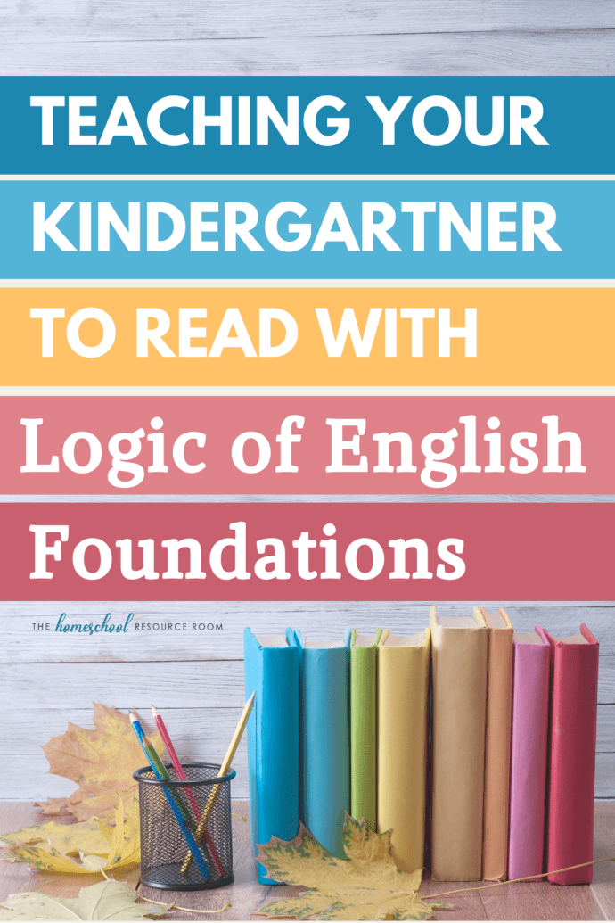 3 excellent reasons to pick Logic of English Foundations for Kindergarten! #homeschoolcurriculum #homeschool #homeschooling #learningtoread #raisingreaders