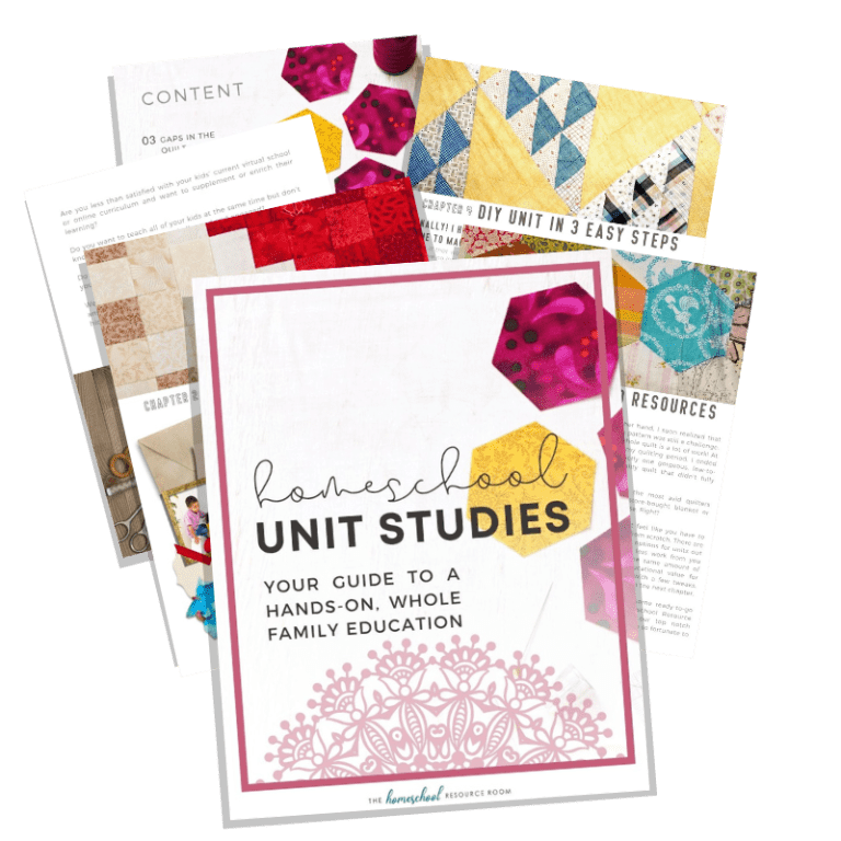 Homeschool Unit Studies eBook