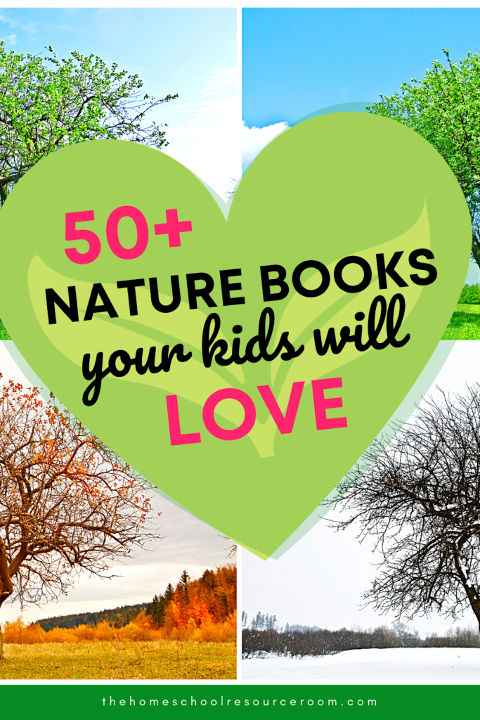 50+ nature books for kids
