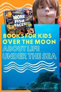 Books about Marine Life for Kids - If you have a little one who is over the moon about all things under the sea, I have a great book recommendation for you! #sponsored #raisingreaders #marinelife #elementaryscience