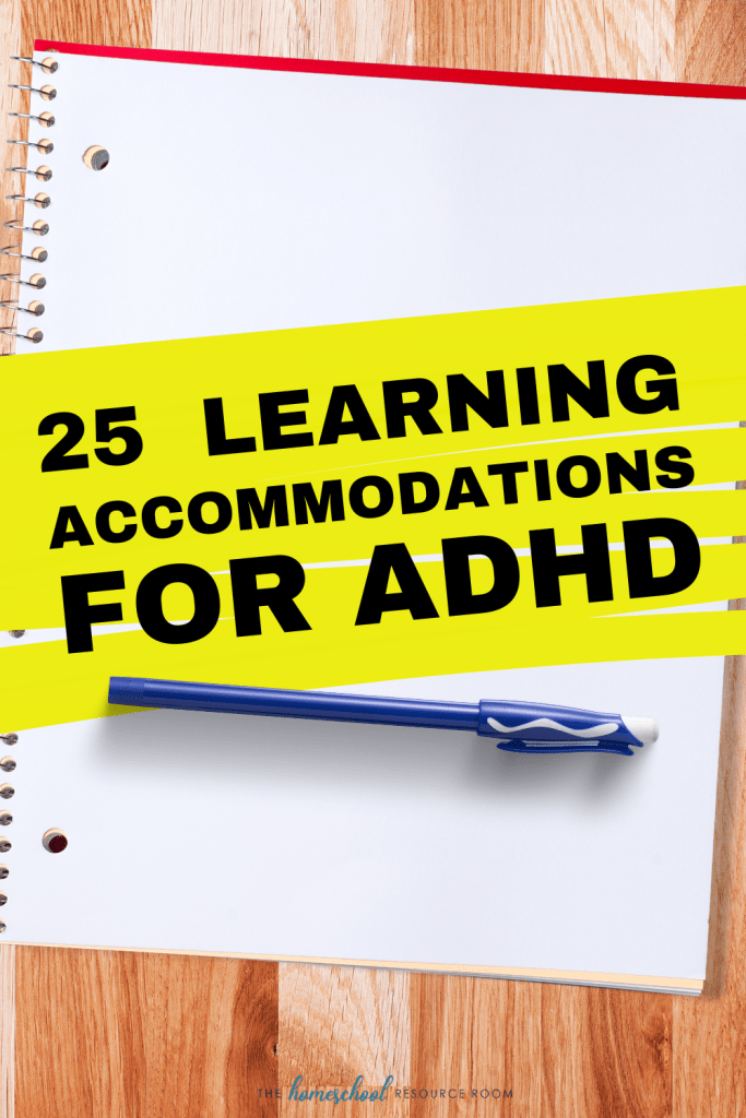25 Learning Accommodations for ADHD