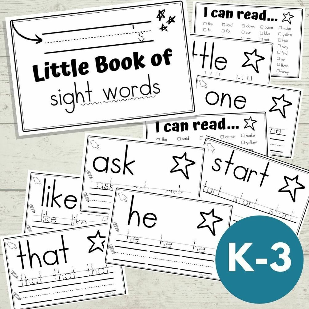 little book of sight words